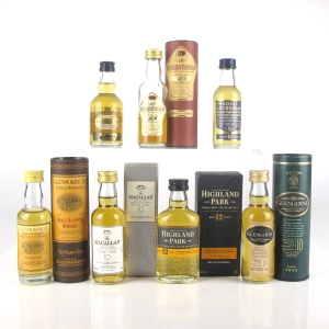 Miscellaneous Single Malt Miniature Selection 7 x Miniatures
