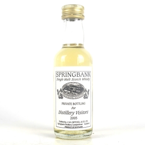 Springbank Private Bottling for Distillery Visitors 2005 Miniature 5cl