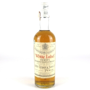 Dewar's White Label Circa 1950s / US Import
