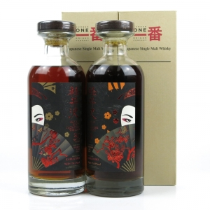 Karuizawa 29 Year Old Geisha Single Cask #8897 and 30 Year Old Geisha Single Cask #5347 / 2 x 70cl