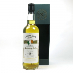 Cooley 1992 Cadenhead's 21 Year Old