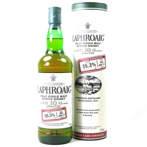 Laphroaig 10 Year Old Cask Strength Batch #003 US Import 75cl