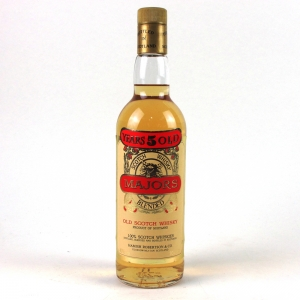 Majors 5 Year Old Blended Scotch Whisky