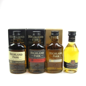 Highland Park Miniature Selection 4 x 5cl