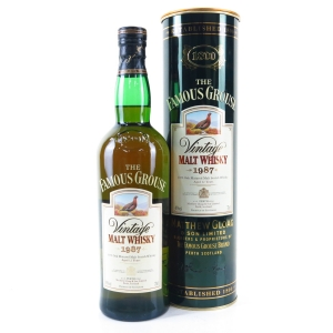 Famous Grouse 1987 Vintage Malt