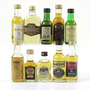 Speyside Malt Miniature Selection 10 x 5cl