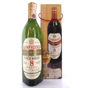 Glenfiddich 8 Year Old Straight Malt 1960/70s