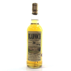 Bladnoch 1990 Single Cask 20 Year Old
