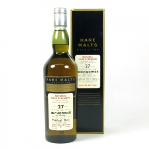 Inchgower 1976 Rare Malt 27 Year Old front