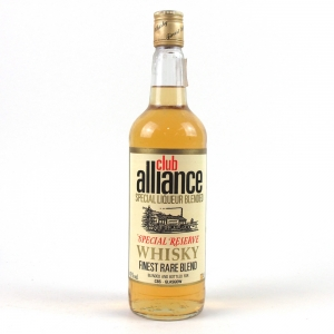 Club Alliance Blended Scotch Whisky 1960s