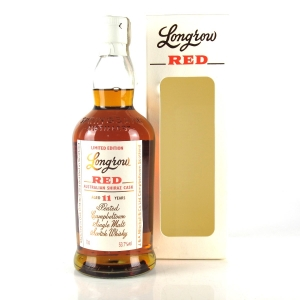 Longrow 'Red' 11 Year Old Australian Shiraz