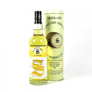 Convalmore 1981 Signatory Vintage 20 Year Old front