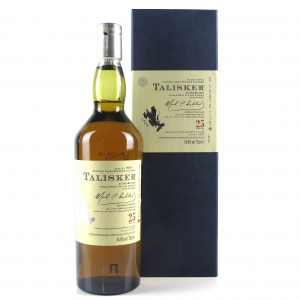 Talisker 25 Year Old 2009 Release
