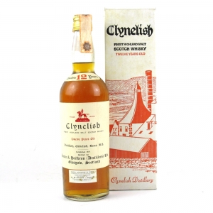 Clynelish 12 Year Old Ainsle and Heilbron 1960s