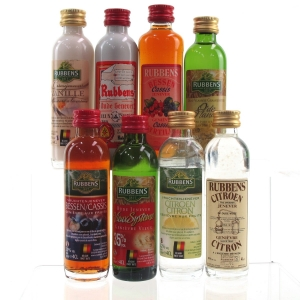 Miscellaneous Liqueur Miniature Selection 8 x 5cl