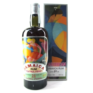 Long Pond 1986 Silver Seal 21 Year Old Jamaica Rum