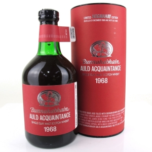 Bunnahabhain 1968 Auld Acquaintance 34 Year Old