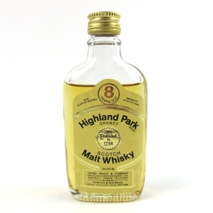 Highland Park 8 Year Old Gordon and MacPhail 1970s 5cl Miniature