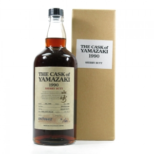 Yamazaki 1990 Single Cask #ON70645 / Bottle No.2