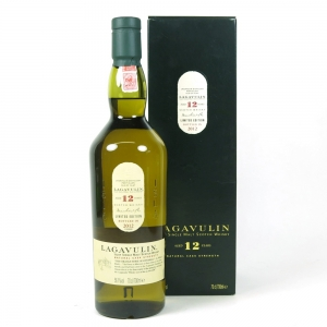 Lagavulin 12 Year Old 2004 Release front