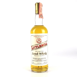 Littlemill 12 Year Old Full Proof / Italian Import