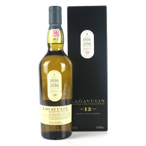 Lagavulin 12 Year Old Cask Strength 2016 / Bicentenary Edition