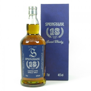 Springbank 18 Year Old (Signed) front