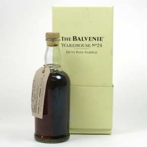 Balvenie Warehouse 24 Sample Front