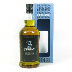 Springbank 1997 Single Cask 16 Year Old (Signed) front