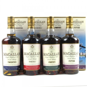 Macallan Decades Collection 4 x 50cl