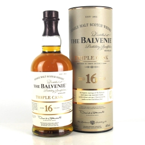 Balvenie 16 Year Old Triple Cask
