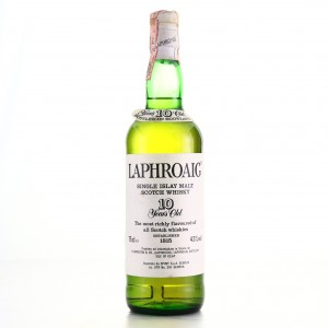 Laphroaig 10 Year Old Pre-Royal Warrant / Spirit Import