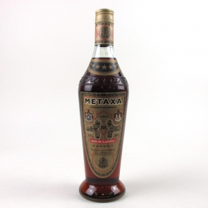 Metaxa Gold Lable