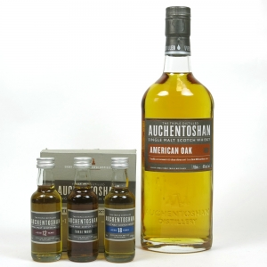 Auchentoshan American Oak and Gift Pack 3 x 5cl