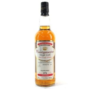 Glenlivet 1976 Montgomerie's Single Cask