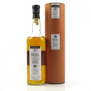 Brora 30 Year Old 2003 Release / Slight Leakage