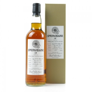 Springbank 1990 Refill Port Hogshead 17 Year Old