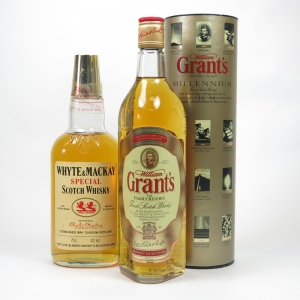 Grant's Millennium and Whyte and Mackay 1980s