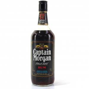 Captain Morgan Gold Label Rum 1980s