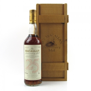 Macallan 1967 Anniversary Malt 25 Year Old