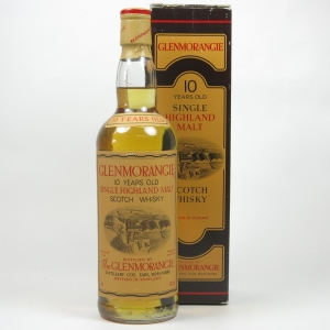 Glenmorangie 10 Year Old 1980s Front