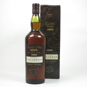 Talisker 1986 Distillers Edition First Edition