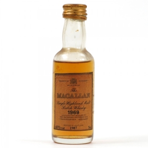 Macallan 1969 5cl Minature