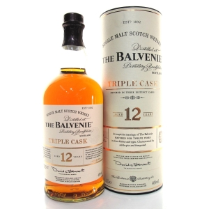 Balvenie Triple Cask 12 Year Old 1 Litre