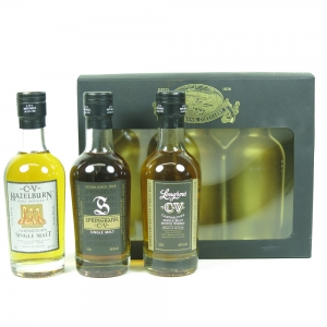 Springbank Distillery Gift Pack 3 x 20cl (Signed) front