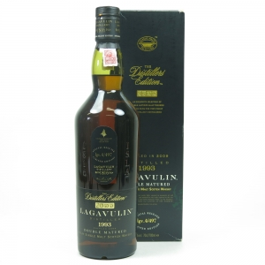 Lagavulin 1993 Distillers Edition