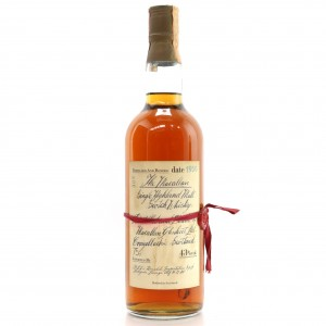 Macallan 1950 Handwritten Label / Rinaldi Import