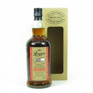 Longrow 14 Year Old Cask Strength (Signed) front