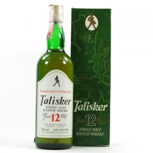 Talisker 12 Year Old 1980s