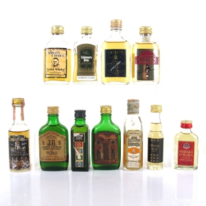 Miscellaneous Whisky Miniature Selection 11 x 5cl